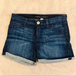 Like new! Banana Republic denim shorts